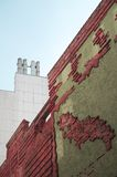 Vicolo di Böttcher con la costruzione di arte a Brema Fotografie Stock