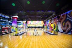 Vicolo di bowling illustrazione vettoriale