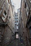 Vicolo di Edimburgo Immagine Stock Libera da Diritti