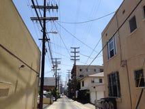 Vicolo di Los Angeles immagine stock libera da diritti