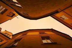 Vicolo di Praga Immagini Stock