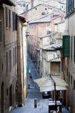 Vicolo di Siena Fotografia Stock