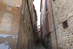 vicolo di Toledo Immagine Stock Libera da Diritti
