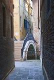 Vicolo di Venezia Immagine Stock