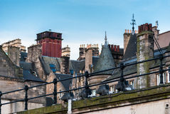 Vicolo a Edimburgo Città Vecchia Fotografia Stock