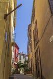 Vicolo in Francia Fotografie Stock Libere da Diritti