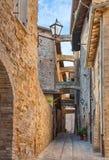 Vicolo italiano antico Fotografie Stock Libere da Diritti