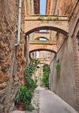 Vicolo italiano antico Fotografia Stock