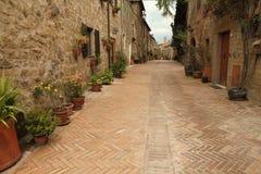 Vicolo italiano pittoresco Fotografie Stock Libere da Diritti
