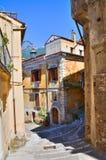 Vicolo. Maratea. La Basilicata. L'Italia. Immagini Stock