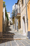 Vicolo. Melfi. La Basilicata. L'Italia. Immagine Stock