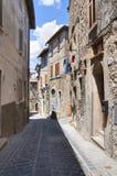 Vicolo. Narni. L'Umbria. L'Italia. Immagini Stock Libere da Diritti