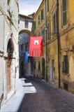 Vicolo. Narni. L'Umbria. L'Italia. Immagini Stock