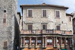 Vicolo. Narni. L'Umbria. L'Italia. Immagine Stock
