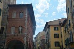 Vicolo nella città di Pisa Immagine Stock Libera da Diritti