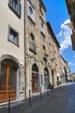 Vicolo. Orvieto. L'Umbria. L'Italia. Immagine Stock Libera da Diritti