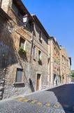Vicolo. Orvieto. L'Umbria. L'Italia. Immagini Stock Libere da Diritti