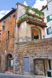 Vicolo. Orvieto. L'Umbria. L'Italia. Fotografie Stock Libere da Diritti