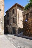 Vicolo. Orvieto. L'Umbria. L'Italia. Fotografia Stock