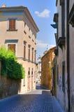 Vicolo. Orvieto. L'Umbria. L'Italia. Fotografia Stock Libera da Diritti