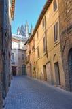 Vicolo. Orvieto. L'Umbria. L'Italia. Immagini Stock