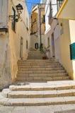 Vicolo. Otranto. La Puglia. L'Italia. Immagini Stock