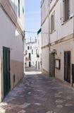 Vicolo. Otranto. La Puglia. L'Italia. Fotografie Stock