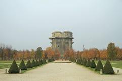 Vicolo in parco Augarten, Vienna fotografia stock libera da diritti