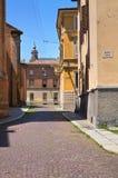 Vicolo. Parma. L'Emilia Romagna. L'Italia. Fotografie Stock Libere da Diritti