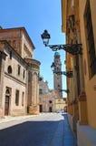 Vicolo. Parma. L'Emilia Romagna. L'Italia. Immagini Stock