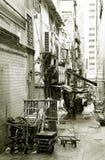 Vicolo posteriore a Hong Kong Fotografia Stock Libera da Diritti