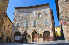 Vicolo. San Gemini. L'Umbria. L'Italia. Fotografia Stock