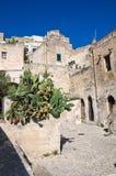 Vicolo. Sassi di Matera. La Basilicata. L'Italia. Fotografia Stock