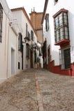 Vicolo in Spagna Immagini Stock
