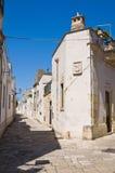 Vicolo. Sternatia. La Puglia. L'Italia. Fotografia Stock Libera da Diritti