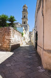 Vicolo. Sternatia. La Puglia. L'Italia. Immagine Stock