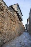 Vicolo stretto della città antica di Jugol Harar Jugol l'etiopia Immagini Stock Libere da Diritti
