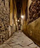 Vicolo stretto a Firenze Fotografie Stock Libere da Diritti