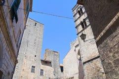 Vicolo. Tarquinia. Il Lazio. L'Italia. Fotografie Stock