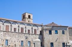 Vicolo. Tarquinia. Il Lazio. L'Italia. Immagini Stock