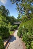 Vicolo in un giardino Immagini Stock