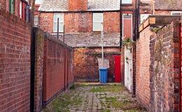 Vicolo urbano del centro urbano Fotografie Stock Libere da Diritti