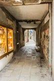 Vicolo a Venezia fotografie stock libere da diritti