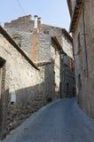 Vicolo. Viterbo. Il Lazio. L'Italia. Immagini Stock