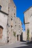 Vicolo. Viterbo. Il Lazio. L'Italia. Fotografie Stock