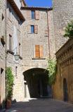 Vicolo. Viterbo. Il Lazio. L'Italia. Fotografia Stock