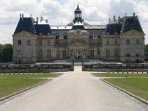 vicomte de Франции le vaux замка стоковые фотографии rf