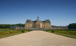 vicomte vaux ch de Франции le teau стоковые изображения rf