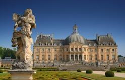 vicomte vaux ch de Франции le teau Стоковая Фотография RF