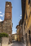 Vicopisano (Pisa) - Medieval tower Royalty Free Stock Photos